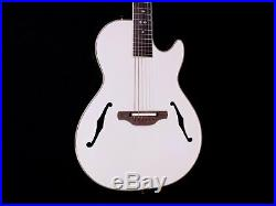 Ovation Viper Yngwie Malmsteen YM68K-P White Acoustic Electric Guitar with Gigbag