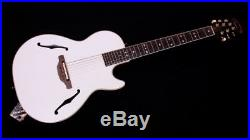 Ovation Viper Yngwie Malmsteen YM68K-P White Acoustic Electric Guitar withGigbag