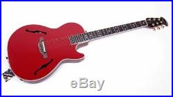 Ovation Viper Yngwie Malmsteen YM68K-RC Red Acoustic Electric Guitar with Gigbag