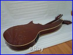 Padded Bag, Harp Guitar, Acoustic Electric Double Neck Guitar