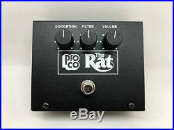 ProCo Vintage RAT VR Pedal NOS Mint in Box! Big Box Reissue! 100% Tested 4 Tone