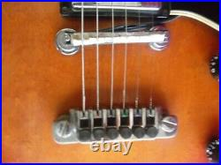RARE 1ST YR GIBSON HOWARD ROBERTS FUSION GUITAR With OVATION ACOUSTIC P/U 1980
