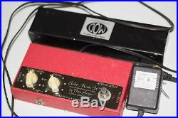 RARE Van Amps Sole-Mate Jr. ANALOG Spring Reverb Tank Pedal WithBox Free Shipping