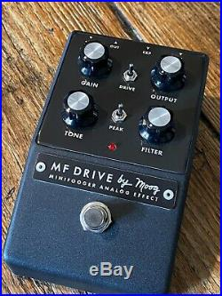 Rare Moog Minifooger Drive Analog pedal, boxed. For guitar, bass and synth