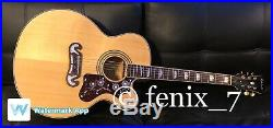 SALE Epiphone EJ-200CE/N Jumbo Acoustic Electric Guitar Grover Gold NATURAL