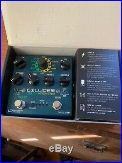 Source Audio Collider Stereo Delay+Reverb Pedal SA263