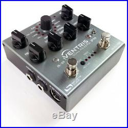 Source Audio SA262 Ventris Dual Reverb Guitar Effects Pedal with Hold + MIDI