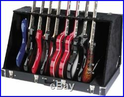 Stagg GDC-8 Guitar Case Stand Fits Up To 8 Electric Or 4 Acoustic Guitars