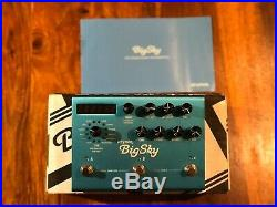 Strymon Big Sky Great Condition Boxed Reverb Guitar Pedal