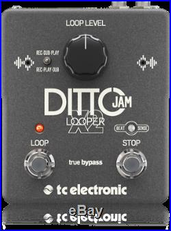 TC Electronic Ditto Jam X2 Looper Guitar Loop Effects Pedal