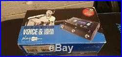 TC HELICON TC082 Play Acoustic Vocal FX and Guitar FX Pedal