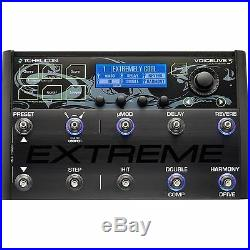 TC-Helicon Voicelive 3 EXTREME Vocal FX Guitar Effects Looper Pedal Open Box