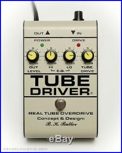 TUBE DRIVER withBIAS- SALE -$99 OFF Direct from BK BUTLER The Original