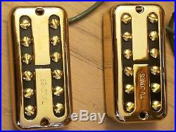 TV Jones Classic Gold Filtertron Guitar Pickups Matched Set Neck & Bridge