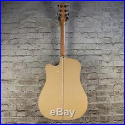 Takamine EF350MC Electric Acoustic Guitar With Case