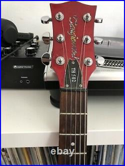 Tanglewood Left-Handed TH502 Cherry Red / Semi-Acoustic