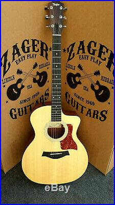 Taylor 114CE Acoustic Electric Guitar, Easy Play made, rare collection! #4229