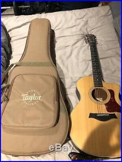 Taylor 114ce Grand Auditorium Acoustic Electric Guitar Great condition