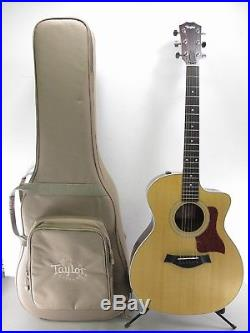 Taylor 214ce Grand Auditorium Acoustic Electric Guitar With Case 2013