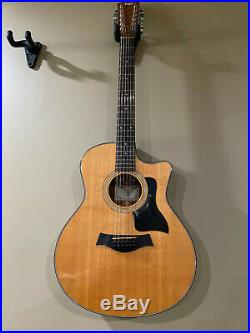 Taylor 356ce 12 String Acoustic Electric Guitar 2013 Natural and Amazing MIN