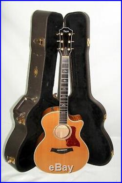Taylor 600 614ce Acoustic/Electric Guitar With Hard Case