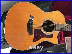 Taylor 714CE Acoustic Electric Guitar with Hard Shell Case NICE