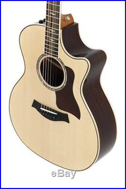 Taylor 814ce Grand Auditorium Sitka Spruce Top Acoustic/Electric Guitar with Case