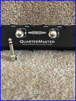The GigRig QuarterMaster QMX-6 Guitar Pedal Effects Switcher RRP £200