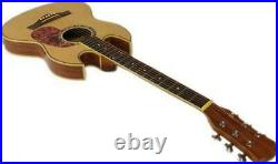 Thin-Line SG ACOUSTIC / ELECTRIC Double Cutaway GUITAR