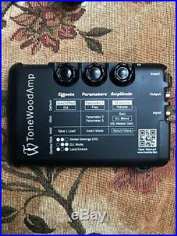 ToneWoodAmp Solo for Acoustic-Electric Guitar with X-magnet Black