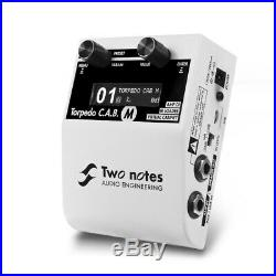 Two Notes Audio Engineering Torepdo CABM DI, IR Loader, Virtual Cabinet C. A. B. M