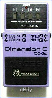 Used Boss DC-2w Waza Craft Dimension C Guitar Effects Pedal