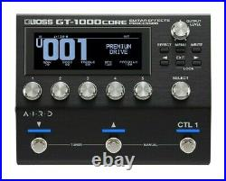 Used Boss GT-1000CORE Guitar Multi Effects Guitar Pedal