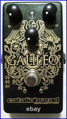 Used Catalinbread Galileo MKII Overdrive Treble Booster Guitar Effects Pedal