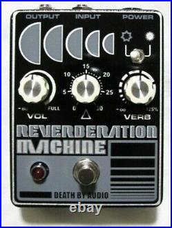 Used Death By Audio Reverberation Machine Guitar Effects Pedal