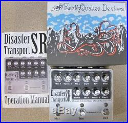 Used Earthquaker Devices Disaster Transport SR Dual Delay with Reverb Pedal