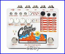 Used Electro-Harmonix EHX Grand Canyon Delay and Looper Guitar Pedal