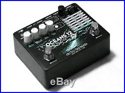 Used Electro-Harmonix EHX Oceans 12 Dual Stereo Reverb Guitar Effects Pedal