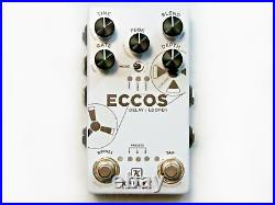 Used Keeley Eccos Tape Delay Looper Guitar Effects Pedal