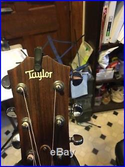 Used taylor 6 string acoustic electric guitar 2001
