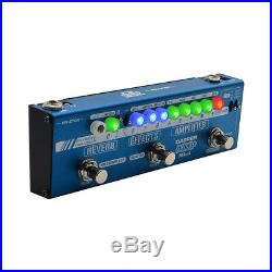 Valeton Multi Effects Pedal Dapper Amp Mini Tuner, Amplifier, Effects, Reverb MES-6