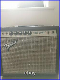 Vintage Fender Vibro Champ Guitar Amplifier 1974 Fully serviced and Working
