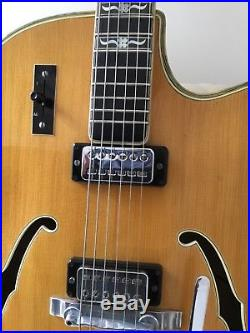 Vintage Hofner Committee 1966 electric guitar. Top of the range. Collector/Jazz