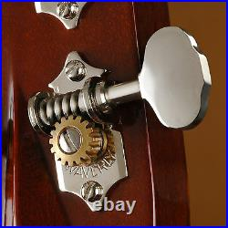 Waverly Guitar Tuners with Butterbean Knobs, for Solid Pegheads, Nickel, 3L/3R