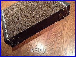 Western Tooled Leather 6 Bay Guitar Rack Stand Case For Fender Gibson Martin PRS