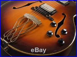 YAMAHA AE-2000 AS / Full-Acoustic Electric Guitar with HC made in 1978 Japan