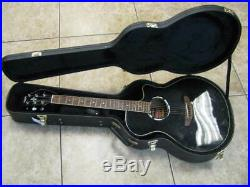 Yamaha APX500II Acoustic Electric Guitar (Black) with Case