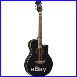 Yamaha APX600 Thin Body Acoustic-Electric Guitar Black
