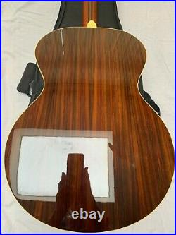 Yamaha Lj6 Acoustic/electric Guitar Fully Refurb Very High Stand Solid Sitka Top